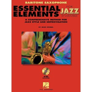 Essential Elements for Jazz Ensemble - E-flat Baritone Saxophone - Mike Steinel - nuty na saksofon barytonowy (+ audio online)