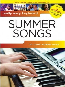 Really Easy Keyboard: Summer Songs - nuty i akordy na keyboard w łatwym opracowaniu (+audio online)