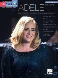 Pro Vocal Women's Edition Volume 56: Adele (2nd edition) - nuty na głos z tekstem i akordami gitarowymi (+ audio online)