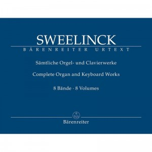 Sweelinck: Samtliche Orgel- und Clavierwerke - Complete Organ and Keyboard Works - kompletne wydanie dzieł organowych i fortepianowych - księgarnia muzyczna Alenuty.pl