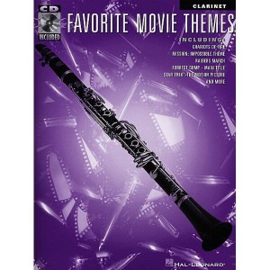 Favorite Movie Themes: Clarinet (+ audio online) - muzyka filmowa na klarnet