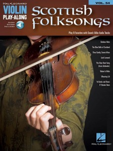 Scottish Folksongs - Violin Play-Along Volume 54 - nuty na skrzypce (+ audio online)