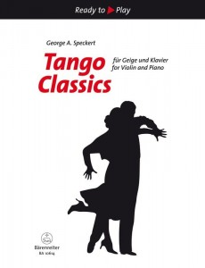 Ready to Play - Tango Classics for Violin and Piano - nuty na skrzypce z fortepianem