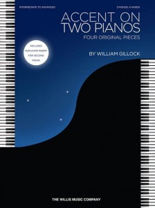 William Gillock: Accent on Two Pianos - 2 Pianos, 4 Hands - nuty na dwa fortepian na cztery ręce