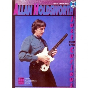 Allan Holdsworth Just for the Curious - nuty i tabulatury na gitarę elektryczną (+płyta CD)