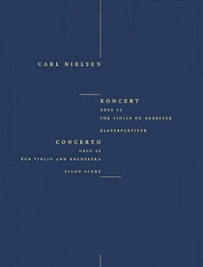 Carl Nielsen: Concerto op. 33 for Violin and Orchestra - nuty na skrzypce i fortepian