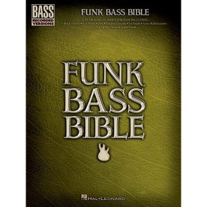 Funk Bass Bible (Bass Recorded Versions)