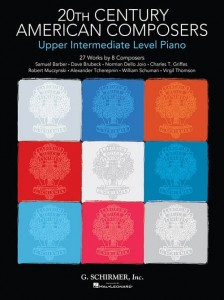 20th Century American Composers: Upper Intermediate Level Piano - nuty na fortepian