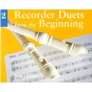 Recorder Duets from the Beginning 2 - John Pitts - nuty na dwa flety proste