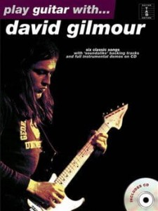 Play Guitar with David Gilmour - nuty na gitarę z tabulaturą (+ płyta CD)
