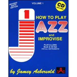 Jamey Aebersold Jazz Volume 001 How to play jazz and improvise (+ płyta CD)