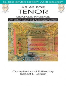 Arias For Tenor - Complete Package - nuty na głos z fortepianem (+ 4 płyty CD)