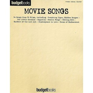 Budgetbooks: Movie Songs - nuty na fortepian, melodia i akordy gitarowe