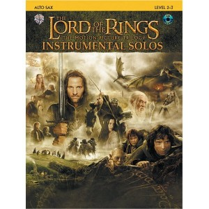 The Lord Of The Rings Instrumental Solos: Alto Sax - muzyka z filmu Władca Pierścieni na saksofon altowy (+ płyta CD)