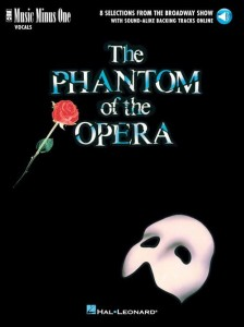 The Phantom of the Opera - 8 Selections from the Broadway Show (+ audio online) - piosenki z musicalu Upiór w operze - nuty na głos z fortepianem
