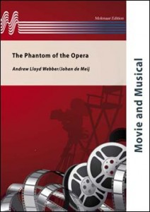 Andrew Lloyd Webber: The Phantom of the Opera for Concert Band (Score & Parts) - nuty na orkiestrę dętą