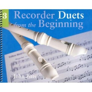 Recorder Duets from the Beginning 3 - John Pitts - nuty na dwa flety proste