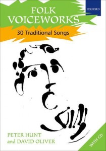 Folk Voiceworks: 30 Traditional Songs (+ płyta CD) - Hunt, Oliver