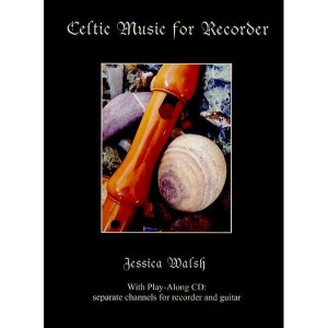 Celtic Music For Recorder (+ płyta CD) - Jessica Walsh - nuty na flet prosty