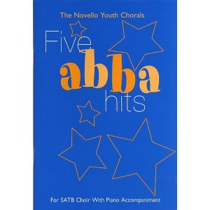 The Novello Youth Chorals: Five Abba Hits (SATB) - nuty na chór z fortepianem