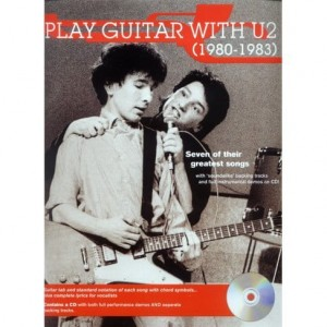 Play Guitar with U2 (1980-1983) - nuty i tabulatury na gitarę (+ płyta CD)