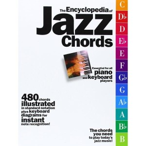 The Encyclopedia Of Jazz Chords - 480 akordów jazzowych na fortepian lub keyboard