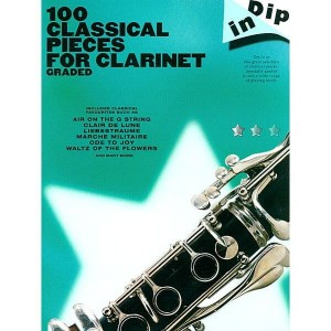 Dip In: 100 Classical Pieces For Clarinet Graded - nuty na klarnet