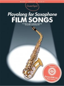 Guest Spot: Film Songs Playalong For Alto Saxophone - nuty na saksofon altowy (+ audio online)