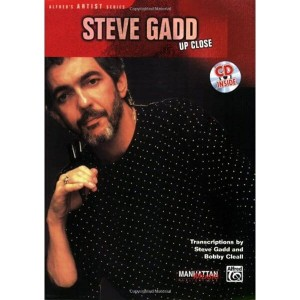 "Steve Gadd: ""Up Close"" - nuty na perkusję (+ płyta CD)"
