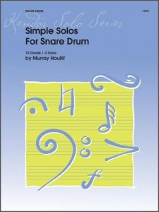 Murray Houllif: Simple Solos for Snare Drum - nuty na werbel