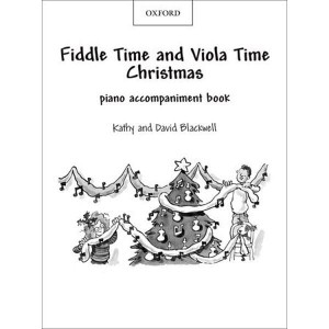 Fiddle Time and Viola Time Christmas - akompaniament fortepianowy
