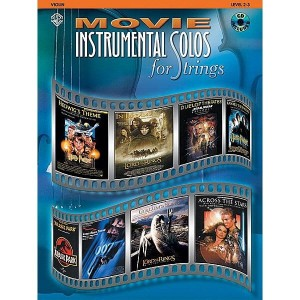 Movie Instrumental Solos for Strings: Violin - nuty na skrzypce do muzyki filmowej (+ płyta CD)
