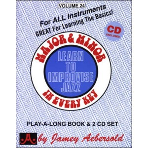 Jamey Aebersold Jazz Volume 024 Major & Minor (+ płyta CD)