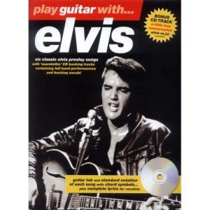 Play Guitar with Elvis Presley - nuty na gitarę z tabulaturą (+ płyta CD)