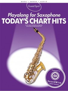 Guest Spot: Today's Chart Hits Playalong for Saxophone - nuty na saksofon altowy (+ audio online)