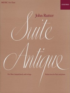 John Rutter: Suite Antique for Flute and Piano - nuty na flet poprzeczny i fortepian