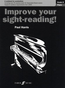 Paul Harris: Improve Your Sight-Reading! - Grade 8 - szkoła grania z nut na fortepian
