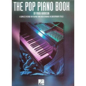 The Pop Piano Book - Harrison - szkoła gry na pianinie