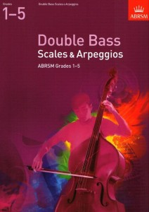 Double Bass Scales & Arpeggios, ABRSM Grades 1-5 - gamy i pasaże na kontrabas