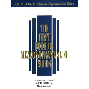 The First Book Of Mezzo-Soprano (Alto) Solos - nuty na głos solo z fortepianem