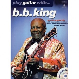 Play Guitar with B.B. King - nuty na gitarę i tabulatury (+ płyta CD)