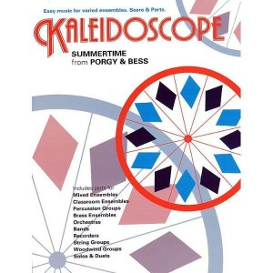 George Gershwin: Kaleidoscope - Summertime (easy music for varied ensembles - Score & Parts) - księgarnia muzyczna Alenuty.pl