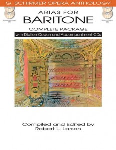 Arias For Baritone - Complete Package - nuty na głos z fortepianem (+ 4 płyty CD)