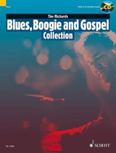 Blues, Boogie and Gospel Collection - Richards - nuty na fortepian (+ płyta CD) - księgarnia muzyczna Alenuty.pl