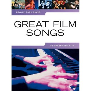 Really Easy Piano: Great Film Songs - łatwe utwory na fortepian
