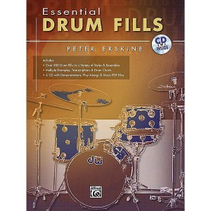 Essential Drum Fills - Peter Erskine (+ płyta CD) - nuty na perkusję