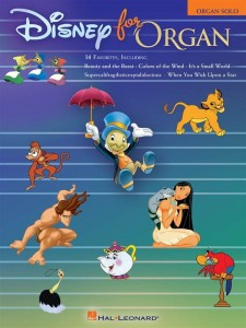 Disney For Organ - nuty na organy