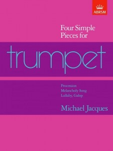 Jacques: Four Simple Pieces for Trumpet - nuty na trąbkę solo
