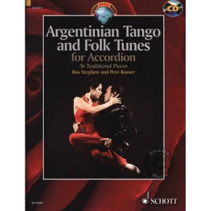 Argentinian Tango and Folk Tunes for Accordion (+ płyta CD) - Ros Stephen, Peter Rosser - nuty na akordeon