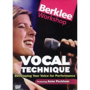 Anne Peckham: Vocal Technique Berklee Workshop - szkoła śpiewu - (DVD)
